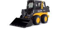 John Deere 320E skid steer loader preview image