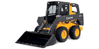 John Deere 326E skid steer loader preview image